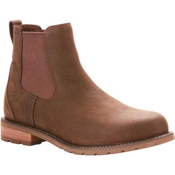 アリアト メンズ ブーツ&レインブーツ シューズ Wexford H2O Ankle Boot Java Full Grain Leather
