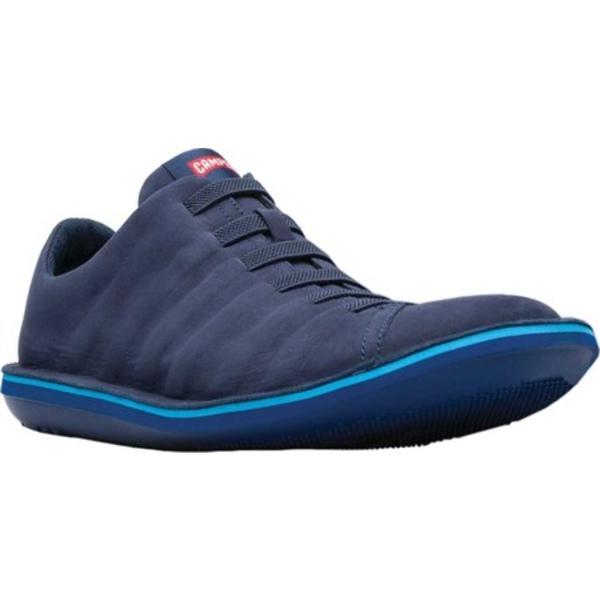 カンペール メンズ スニーカー シューズ Beetle Sneaker Navy Nubuck