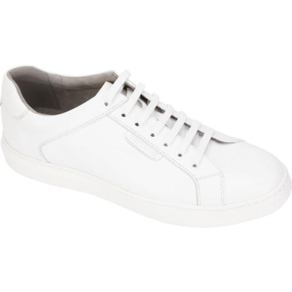 ケネスコール メンズ スニーカー シューズ Liam Sneaker White Leather