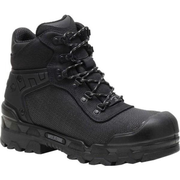 ウルヴァリン メンズ ブーツ&レインブーツ シューズ Warrior SuperFabric Composite Toe Work Boot Black SuperFabric Textile