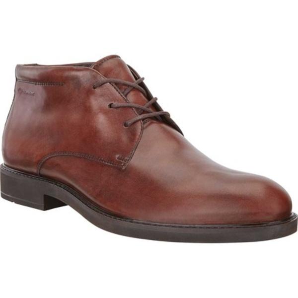 エコー メンズ ブーツ&レインブーツ シューズ Vitrus III GORE-TEX Chukka Boot Mink Calf Leather