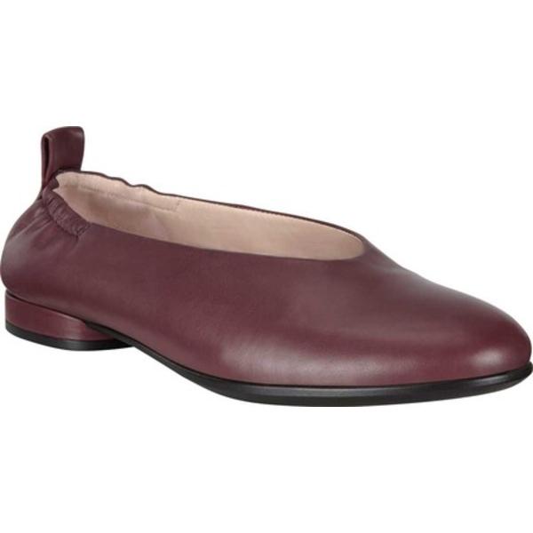 エコー レディース サンダル シューズ Anine Classic Ballet Flat Chocolate Calf Leather