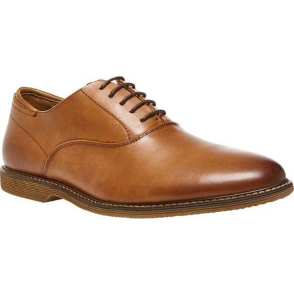 スティーブ マデン メンズ ドレスシューズ シューズ Waldorf Plain Toe Oxford Tan Smooth Leather