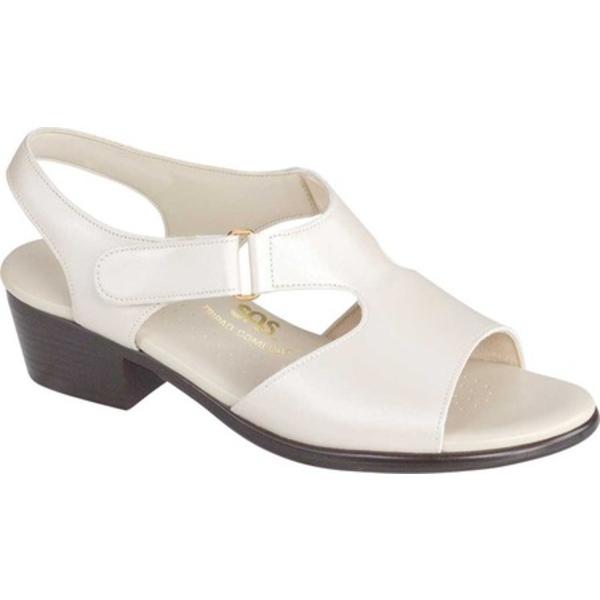 エスエーエス レディース サンダル シューズ Suntimer Heeled Sandal Pearl Bone Leather