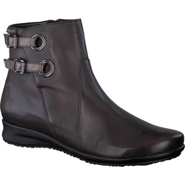 メフィスト レディース ブーツ&レインブーツ シューズ Flavie Ankle Boot Dark Brown Smooth Leather