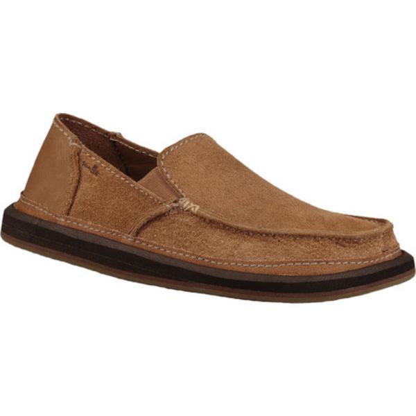 サヌーク メンズ ブーツ&レインブーツ シューズ Vagabond Artesano Moc Toe Slip On Brown Leather