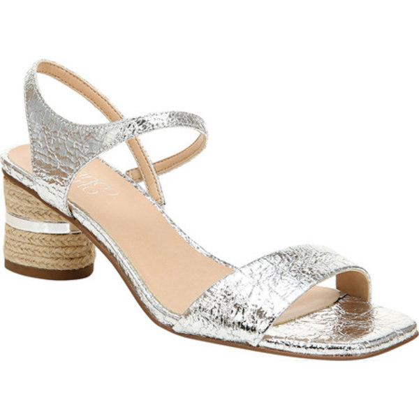 フランコサルト レディース サンダル シューズ Melody Slingback Sandal Silver Tasmania Polyurethane