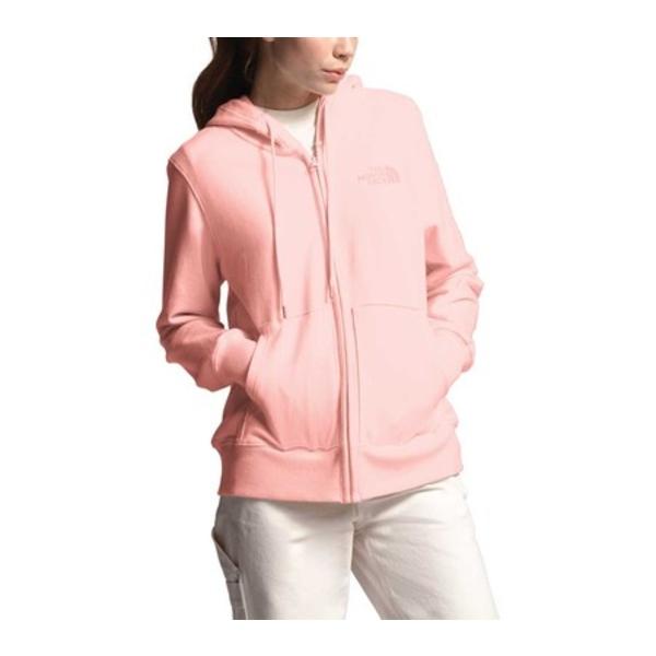 ノースフェイス レディース パーカー・スウェットシャツ アウター Lightweight Tri-Blend Zip Hoodie Impatiens Pink Heather