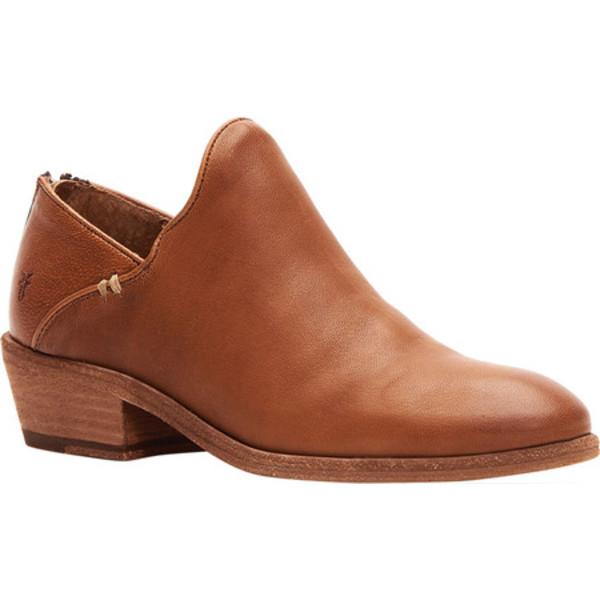 フライ レディース ブーツ&レインブーツ シューズ Carson Shootie Cognac Vintage Veg Tan Leather