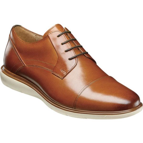 フローシャイム メンズ ドレスシューズ シューズ Ignight Cap Toe Oxford Saddle Tan Smooth Leather