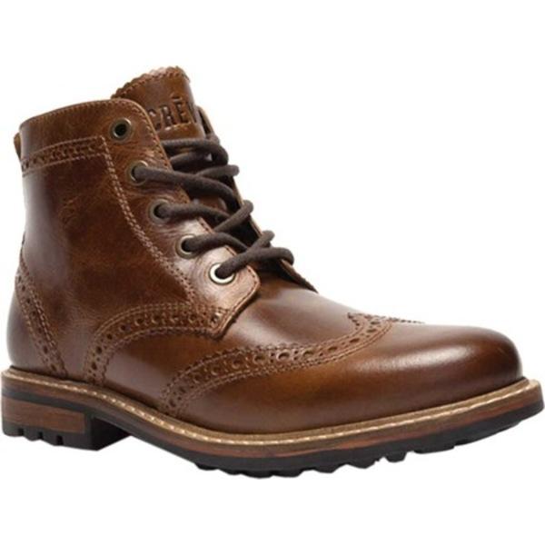 クレボ メンズ ブーツ&レインブーツ シューズ Speakeasier Ankle Boot Chestnut Leather