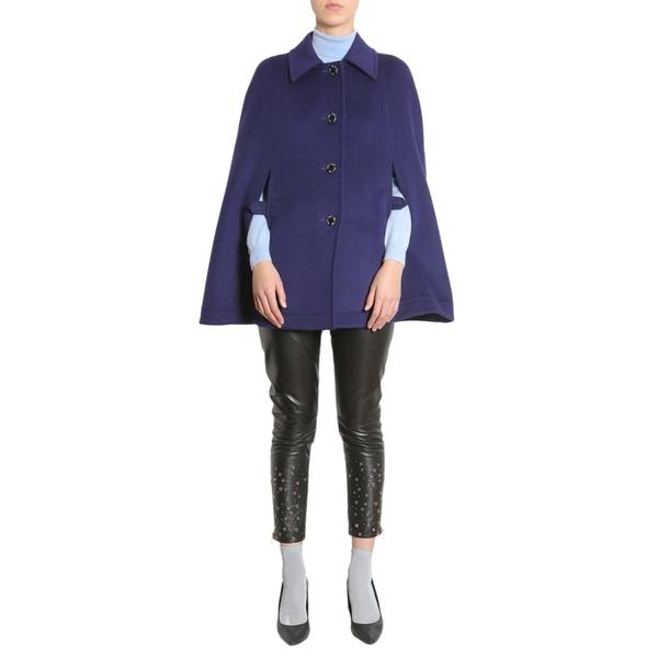 ブティックモスキーノ レディース ジャケット&ブルゾン アウター Boutique Moschino Cape Coat BLU