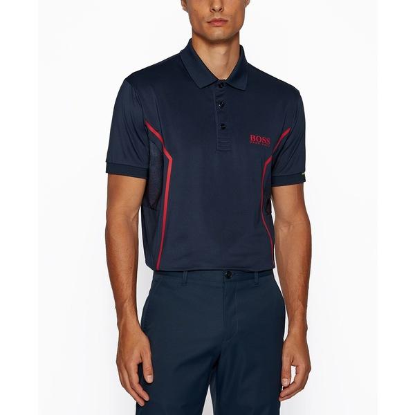 即日発送 ヒューゴボス メンズ ポロシャツ トップス BOSS Men&39;s Paddy MK Regular-Fit Polo Shirt Navy, マリーテティー(ベビー雑貨) 41135ecb