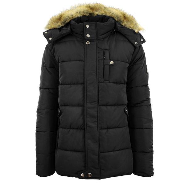 <title>ギャラクシーバイハルビック メンズ アウター ジャケット ブルゾン Black 全商品無料サイズ交換 Men's Heavyweight Bomber Parka Zip Jacket with 蔵 Detachable Hood</title>