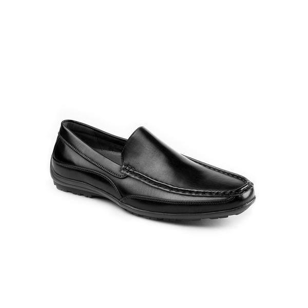 ディアースタッグス メンズ スリッポン・ローファー シューズ Men's Drive Memory Foam Loafer Black:asty