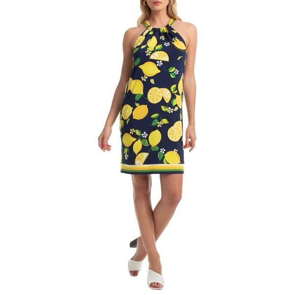トリーナターク レディース ワンピース トップス Shangri Shangri La Rancho Shift Matte Jersey Dress Shift Dress Ink Blue, ナルトウマチ:654a1a89 --- officewill.xsrv.jp