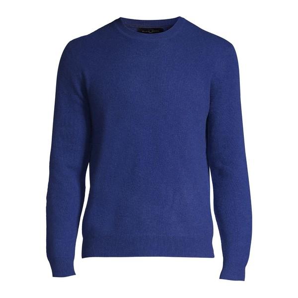 ブラック・ブラウン1826 メンズ ニット&セーター アウター Cashmere Crewneck Sweater Dark Cobalt