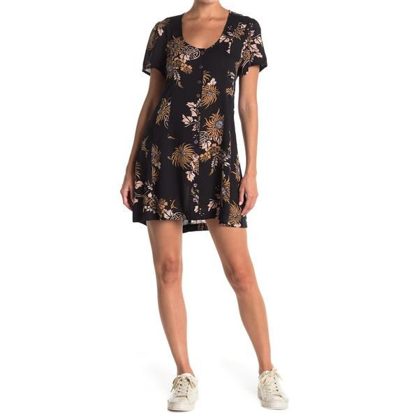 アミューズソサエティ レディース ワンピース トップス Ali Mini Dress BLK-BLACK:asty
