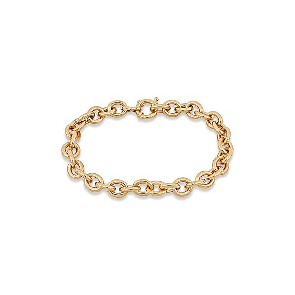 デルマール レディース アクセサリー ブレスレット バングル アンクレット 予約 GOLD 全商品無料サイズ交換 Sterling Plated Link Gold Yellow 格安店 Bracelet Silver
