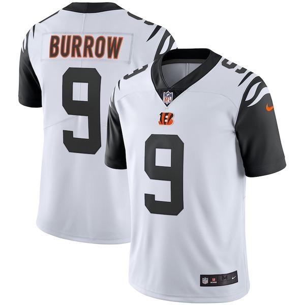 ナイキ メンズ シャツ トップス Joe Burrow Cincinnati Bengals Nike 2nd Alternate Vapor Limited Jersey White