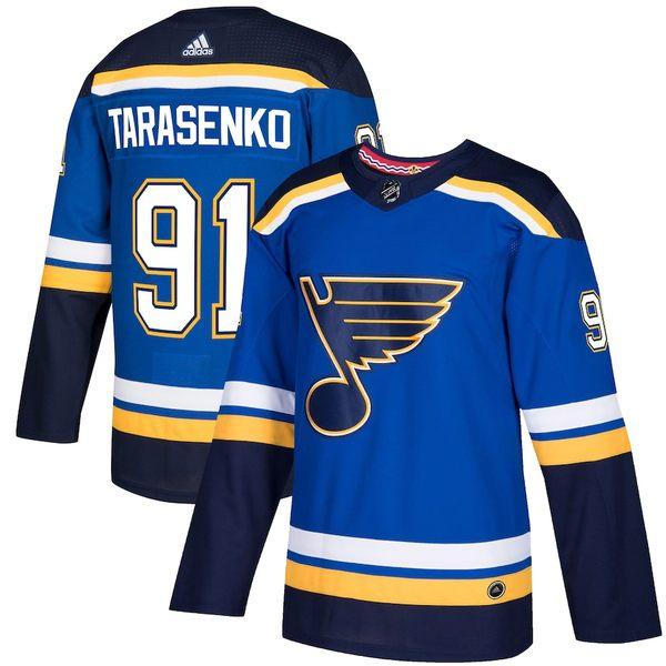 アディダス メンズ シャツ トップス Vladimir Tarasenko St. Louis Blues adidas Authentic Player Jersey Royal