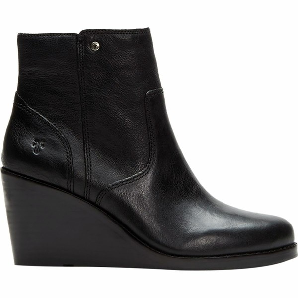 フライ レディース ブーツ&レインブーツ シューズ Emma Wedge Short Boot - Women's Black