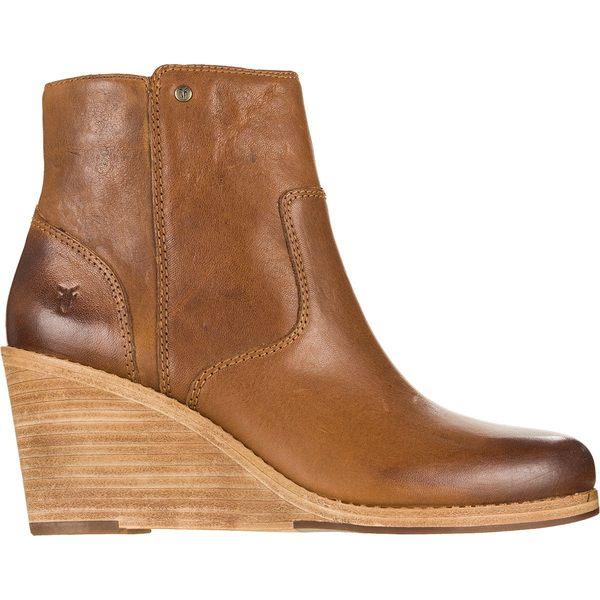 フライ レディース ブーツ&レインブーツ シューズ Emma Wedge Short Boot - Women's Tan