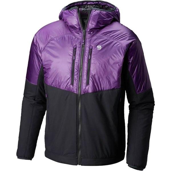 マウンテンハードウェア メンズ ジャケット&ブルゾン アウター Kor Strata Alpine Hooded Jacket - Men's Cosmos Purple