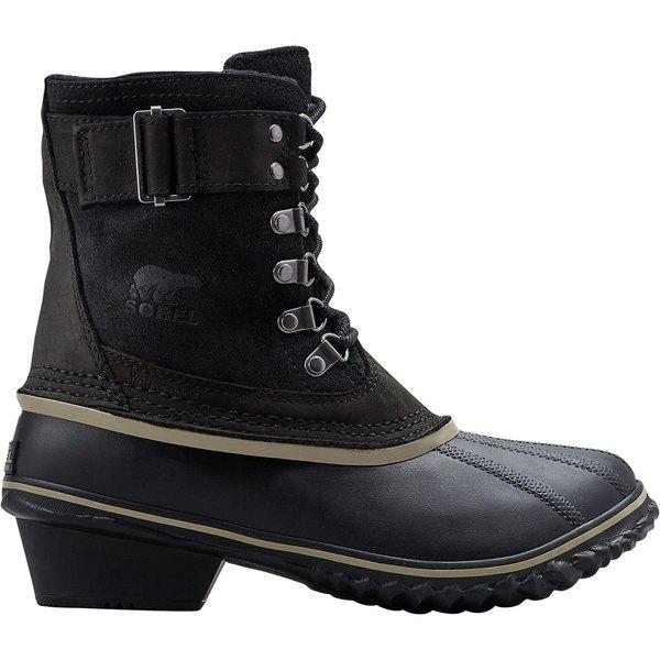 ソレル レディース ブーツ&レインブーツ シューズ Winter Fancy Lace II Boot - Women's Black/Silver Sage