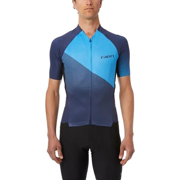 ジロ メンズ サイクリング スポーツ Chrono Pro Jersey - Men's Midnight Blue Shadow