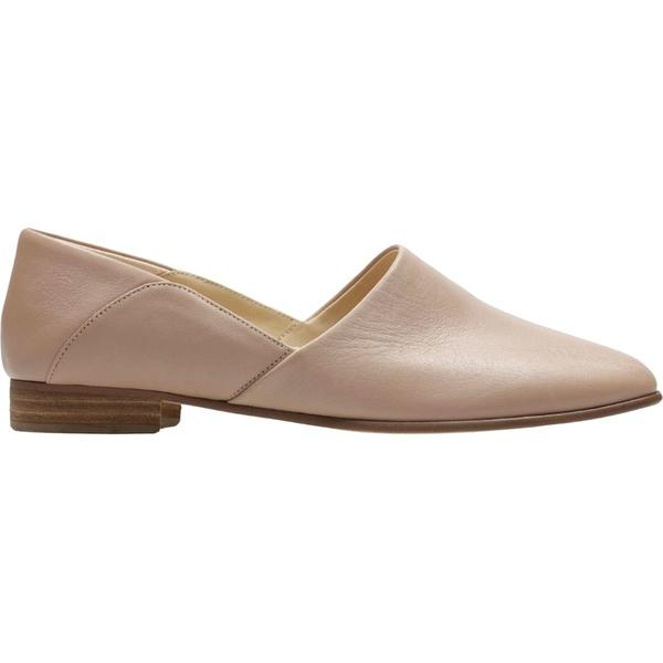 クラークス レディース スニーカー シューズ Pure Tone Shoe - Women's Nude Leather