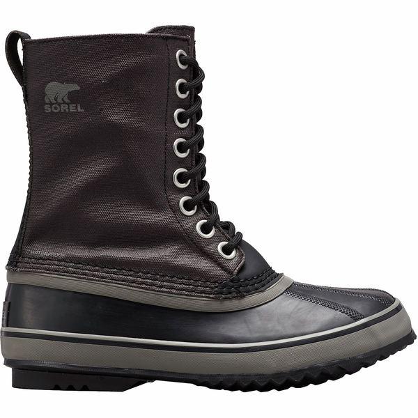 ソレル レディース ブーツ&レインブーツ シューズ 1964 Premium Canvas Boot - Women's Black/Quarry