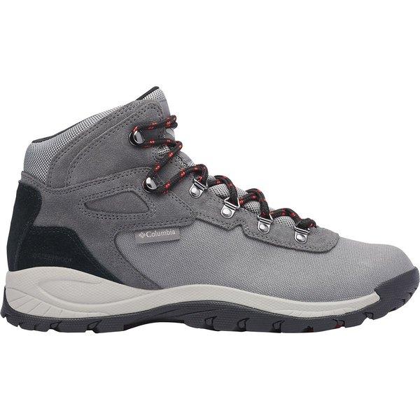 コロンビア メンズ ハイキング スポーツ Newton Ridge LT WP Hiking Boot - Men's Titanium Ii/Rust Red