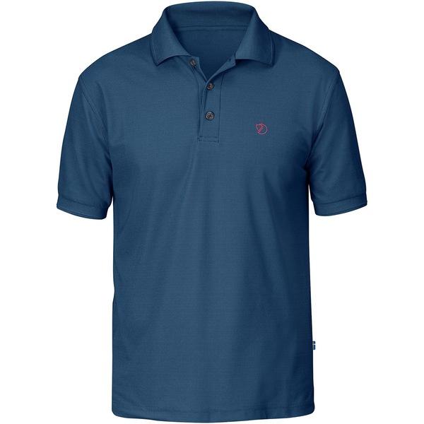 フェールラーベン メンズ ポロシャツ トップス Crowley Short-Sleeve Pique Shirt - Men's Uncle Blue