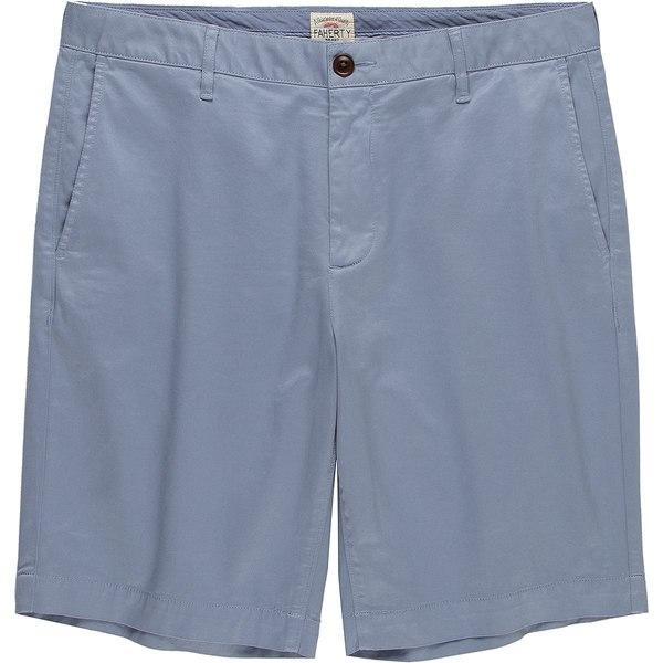 ファエティ メンズ ハーフ&ショーツ ボトムス Stretch Chino Short - Men's Skip Blue