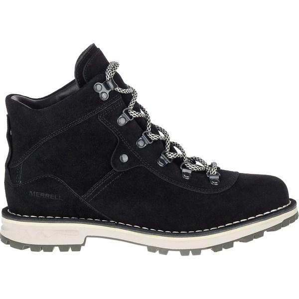 メレル レディース ブーツ&レインブーツ シューズ Sugarbush WP Suede Boot - Women's Black