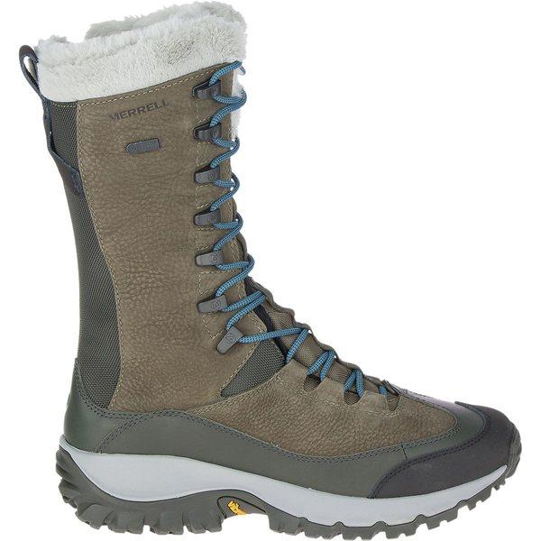 メレル レディース ブーツ&レインブーツ シューズ Thermo Rhea Tall WP Boot - Women's Olive