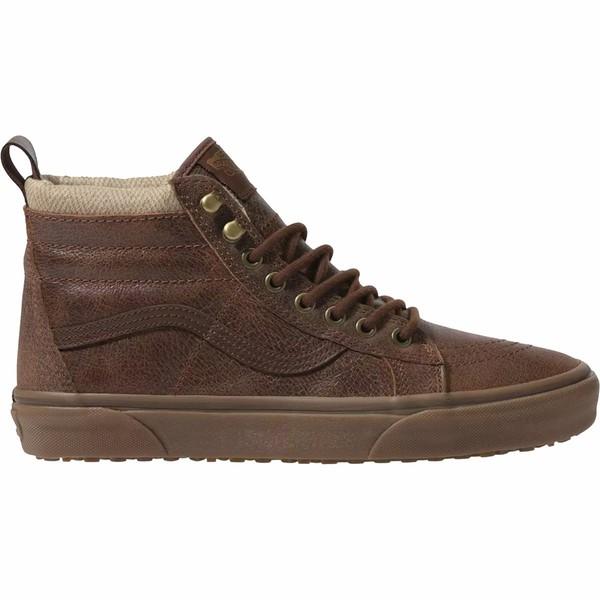 バンズ メンズ ブーツ&レインブーツ シューズ Sk8-Hi MTE Boot (mte) Leather/Brown/Herringbone
