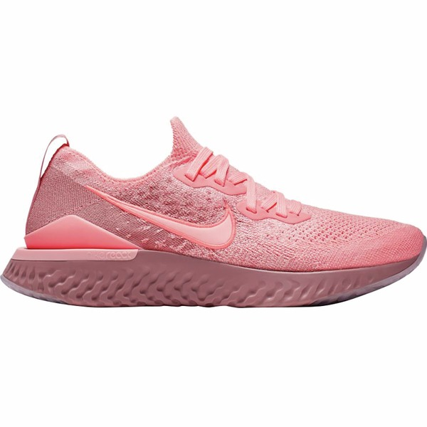 ナイキ レディース スニーカー シューズ Epic React Flyknit 2 Running Shoe - Women's Pink Tint/Pink Tint-Rust Pink