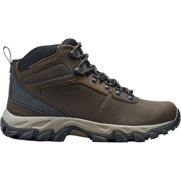 コロンビア メンズ ハイキング スポーツ Newton Ridge Plus II Waterproof Hiking Boot - Men's Cordovan/Squash