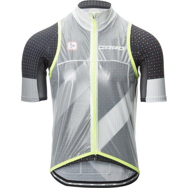 カポ メンズ サイクリング スポーツ Pursuit Compatto Wind Vest - Men's Clear