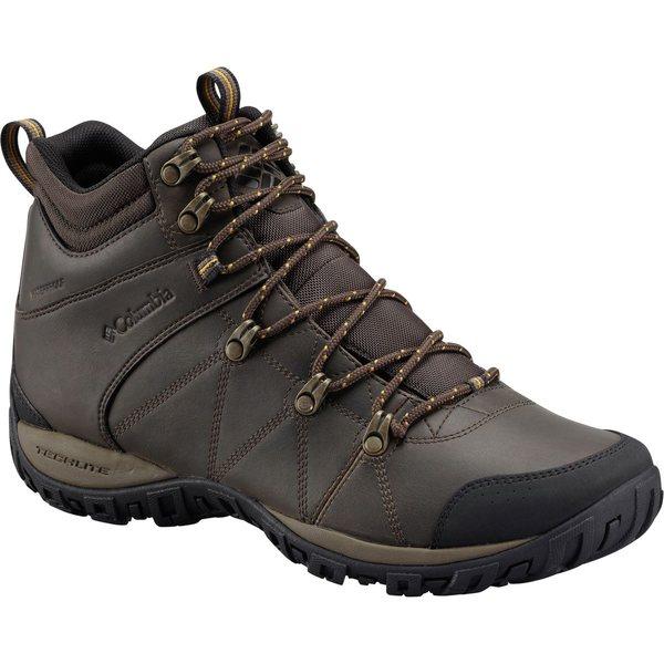 コロンビア メンズ ブーツ&レインブーツ シューズ Peakfreak Venture Mid Waterproof Omni-Heat Boot - Men's Cordovan/Caramel