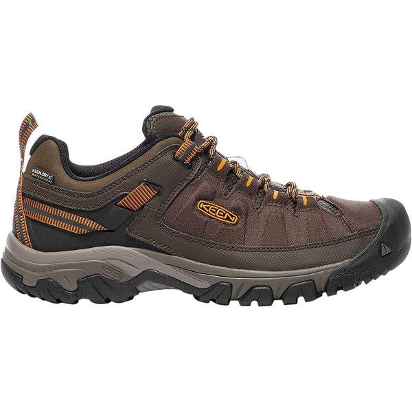 キーン メンズ スニーカー シューズ Targhee Exp Waterproof Wide Shoe - Men's Cascade/Inca Gold