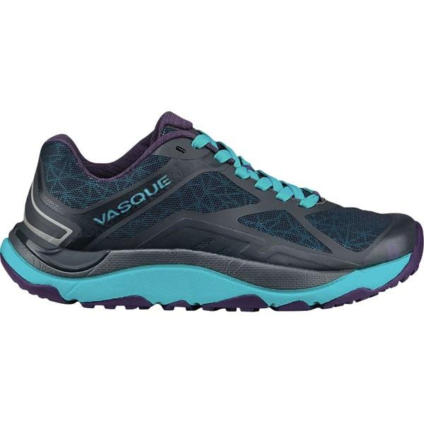 バスク レディース スニーカー シューズ Trailbender II Trail Running Shoe - Women's Ebony/Bluebird