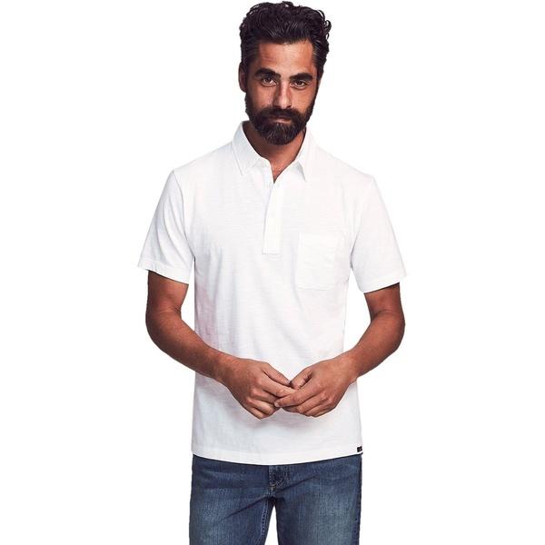 ファエティ メンズ ポロシャツ トップス Sunwashed Polo Shirt - Men's White