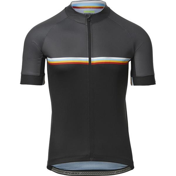 ジロ メンズ サイクリング スポーツ Chrono Sport Short-Sleeve Jersey - Men's Black Classic Stripe