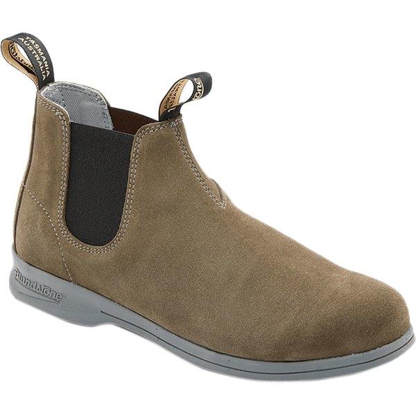 ブランドストーン メンズ ブーツ&レインブーツ シューズ Active Series Mid Cut Suede Boot - Men's Olive Suede