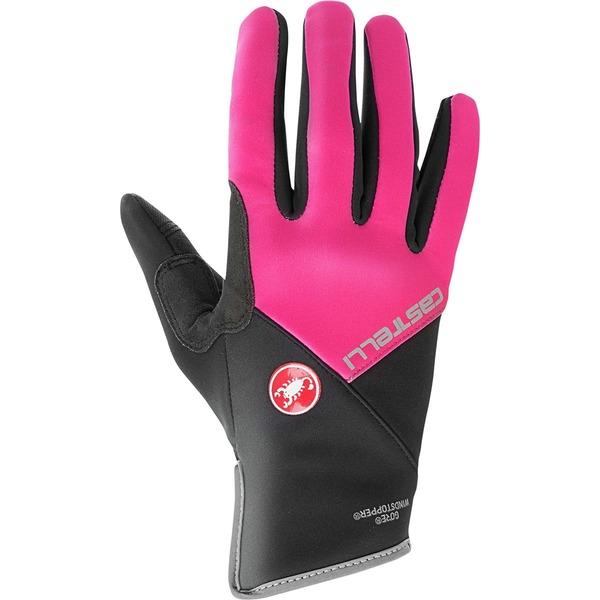 カステリ レディース サイクリング スポーツ Scalda Pro Glove - Women's Electric Magenta/Black