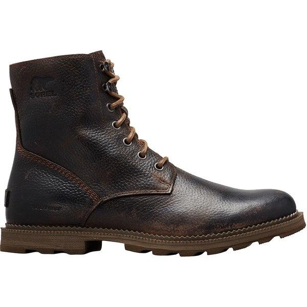 ソレル メンズ ブーツ&レインブーツ シューズ Madson 6in WP Boot - Men's Tobacco/Mud