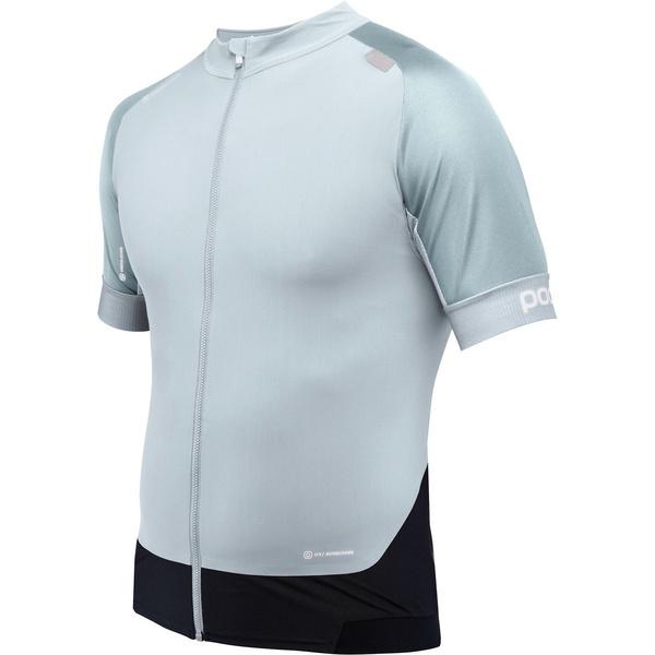 ピーオーシー メンズ サイクリング スポーツ Resistance Pro XC Zip T-Shirt - Men's Fenestrane Blue